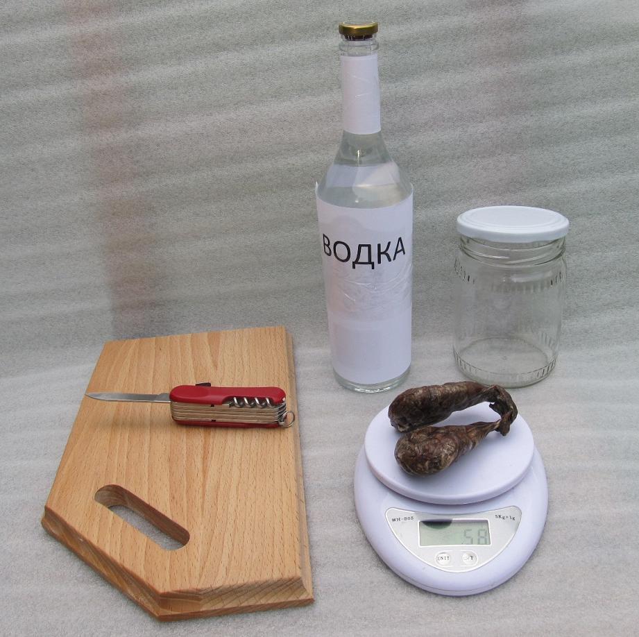 Как приготовить бобровую струю
